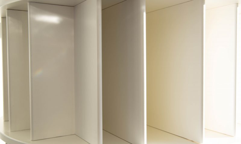 Boekenmolen – moderne eyecatcher op kantoor of in huis