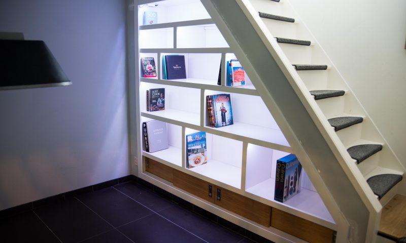 Inbouwkast – Ingebouwde boekenkast op maat
